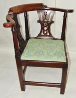 Georgian Walnut Corner Chair (5 of 7)