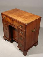 Most Attractive George III Period Kneehole Desk (3 of 6)