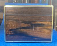 Georgian  Rosewood Brassbound Vanity Box (5 of 34)