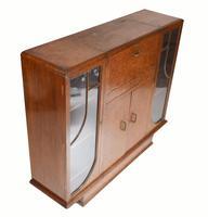 Vintage Art Deco Drinks Cabinet 1930s Furniture (8 of 10)