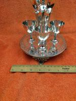 Antique Silver Plate 4 Piece Egg Cruet Set C1880's Cooper Brothers 656 (4 of 12)