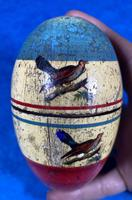 19th Century Skittles Game in Tunbridge Ware White Wood Painted Egg (14 of 21)