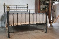 Classic Victorian English King Size Bedstead (5 of 7)