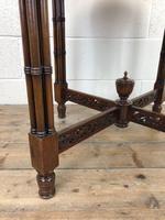Antique Walnut Circular Centre Table (5 of 10)