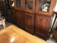4 Door Mahogany Library Bookcase (4 of 10)