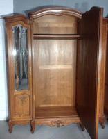 Large Oak French Triple Armoire (12 of 12)