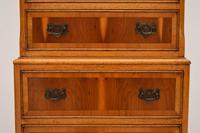 Antique Georgian Style Yew Wood Chest on Chest (6 of 13)