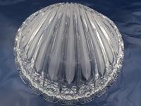 Old Bohemian Shell-shaped Glass Dish (4 of 4)