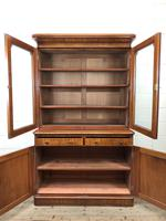 Antique Mahogany Two Stage Bookcase (6 of 10)