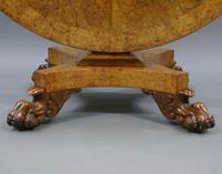 Regency Burr Elm Centre Table (2 of 6)