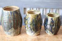 Scottish Pottery Slipware Barrel Storage Jars x4 (14 of 35)