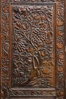 19th Century Carved Eastern Screen (8 of 9)