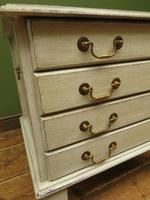 Small Gustavian Style Painted Chest, Crafting Chest of Drawers (10 of 15)