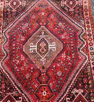 Traditional Persian Qashqai Wool Rug (4 of 5)