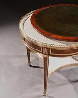 Exceptional Gervais Durand 19th Century Mahogany & Gilt Bronze Gueridon Bouillotte Table (10 of 17)