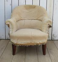 French Tub Armchair for re-upholstery (2 of 8)