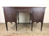 Edwardian Inlaid Mahogany Desk with Leather Top (2 of 11)
