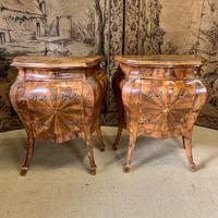 Stunning Pair of 19th Century Italian Inlaid Cupboards (8 of 8)