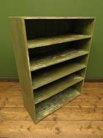 Green Rustic Painted Shelves Kitchen Storage, shabby chic Industrial Shelves (14 of 14)
