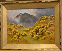 Oil Painting of Mount Snowdon by Alfred Oliver (4 of 8)
