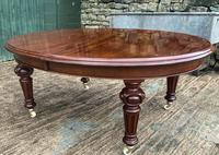Super Quality Victorian Mahogany Extending Dining Table Seats 14 (18 of 18)