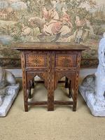 19th Century Brass Inlaid Hoshiarpur Table (2 of 7)