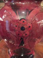 Rare Moorcroft Flambe Glazed Big Poppy Vase (2 of 7)