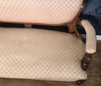 Victorian Burr Walnut & Inlaid Salon Suite (9 of 38)