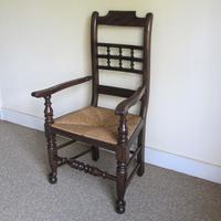 Ash Spindle-back Carver Chair (2 of 5)