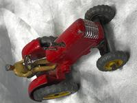 1950's Dinky Toys Massey Harris Red Tractor Plough Manure Spreader Disc Harrow (14 of 36)