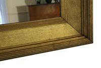 19th Century Overmantle Gilt Wall Mirror (3 of 8)