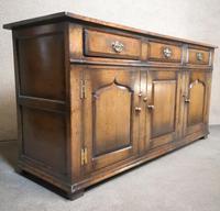 Titchmarsh Goodwin English Oak Dresser Base (5 of 10)