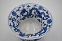 Blue & White Dragon Vase, Zhadou – Guangxu (4 of 8)