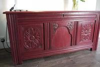 19th Century Painted Coffer