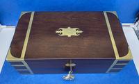 Georgian Solid Mahogany Box (2 of 11)