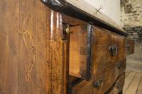 18th Century Italian Piemonte Walnut Serpentine Bureau (9 of 14)