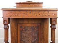 Antique Edwardian Davenport Desk (7 of 15)