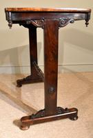 Small Regency Rosewood Occasional Side Table (3 of 7)