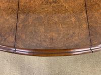 Large Victorian Burr Walnut Sutherland Table (15 of 16)