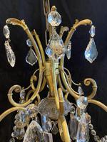 One Light Italian Open Lantern Antique Chandelier (2 of 12)