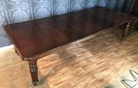 Victorian Mahogany Extending Ten Seat Dining Table with Three Leaves (3 of 8)