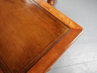 Pair of Victorian Satin Birch Library Tables (14 of 14)