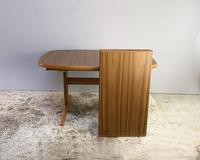 1970's Danish Long Walnut Dining Table by Skovby (5 of 7)