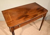 George III Single Drawer Mahogany Side Table (4 of 6)