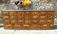 Charming Set of Antique Apothecary Drawers (2 of 10)