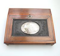 Extremely Rare & Fine Small Lap Desk & Full Internal Fittings Palais Royal 19th Century (5 of 13)