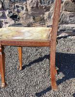 Glasgow School Oak Single Hall Chair (5 of 5)