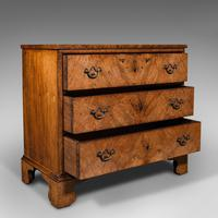 Antique Gentleman's English Burr Walnut Chest of Drawers - Georgian (2 of 12)