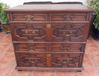 Country Oak 4 Drawer Chest of Drawers splits into 2 c.1670 (10 of 10)