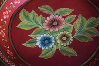 Large Scandinavian Painted Wooden Bowl (5 of 10)